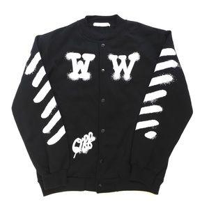 Off-White Varsity Jacket Sweater